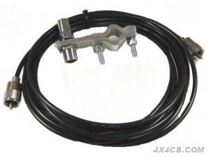 A Two-Bolt mount shown here with a 5m lead