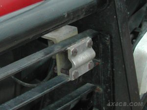 Here's a Two-Way Roofrack mount on the lampguards on a bullbar!