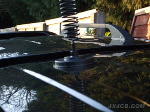 Our 5 inch AM1035 magmount on the roof of a Toyota Hilux Mk 6