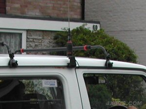 The Sirio KF Guttermount shown here with a Hipower 4000 aerial