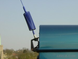 Guttermount fitted to the back of a Land Rover Defender...