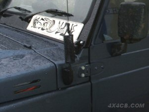 PSM-1 fixed to the scuttle panel of a Suzuki SJ