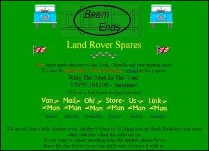 BeamEnds Ltd (Land Rover Parts) - Staffs, United Kingdom
