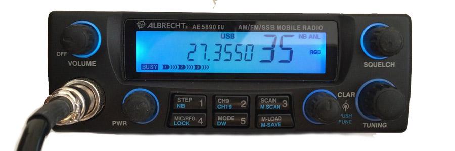 Picture of Albrecht AE 5890 EU - Legal SSB CB Radio