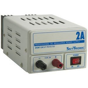 Picture of Skytronic 2amp 13.8v Regulated Power Supply